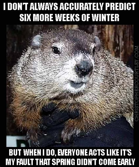 groundhog day meme the most interesting groundhog in the world my