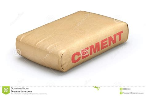 Ein Sack Zement by Cement Sack Stock Illustration Image 50051459