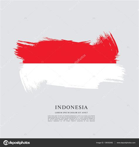 flag of indonesia banner stock vector 169 igor vkv 139352082