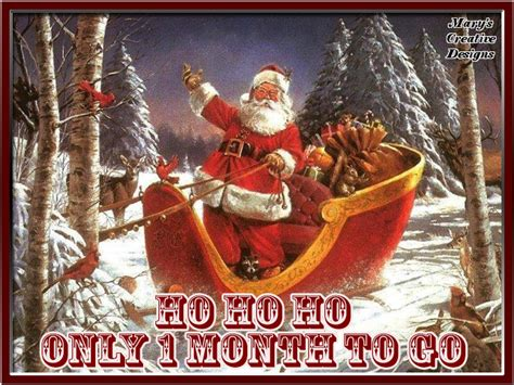 one month until christmas quote pictures photos and
