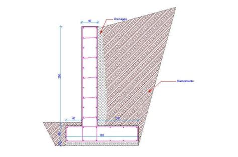 muro di sostegno a mensola opere di sostegno rigide e flessibili san cipriano