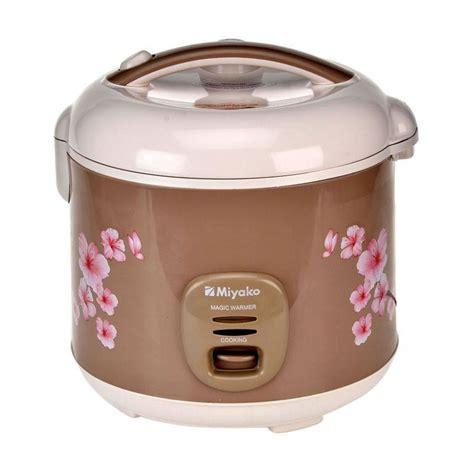 Rice Cooker Miyako Kecil jual miyako mcm 509 rice cooker harga kualitas terjamin blibli