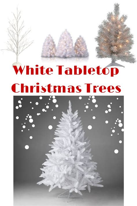 google holiday living mini christmas trees 38 best white tabletop trees images on trees trees and