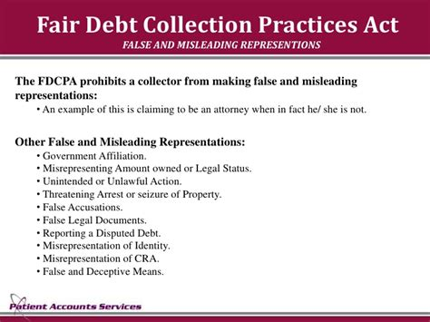 Fair Credit Collection Act Letter fair debt collection practices act demand letter