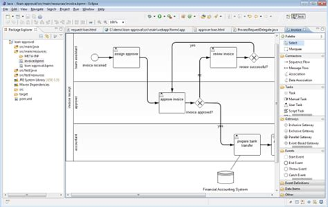 how to draw bpmn diagram in eclipse create bpmn diagram in eclipse choice image how to guide and refrence