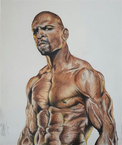 terry crews white chicks painting terry crews drawing by dmo herr