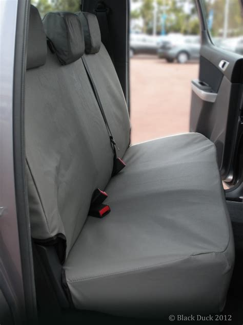 ford ranger bench seat covers rear bench fits selected ford ranger mazda bt 50 dual