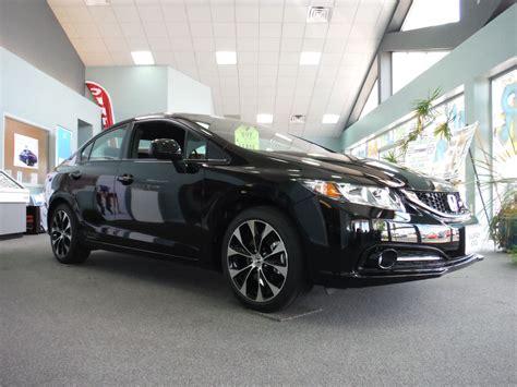 Honda Si Hp by 2013 Honda Civic Si Sedan W 201 Hp Black Pearl
