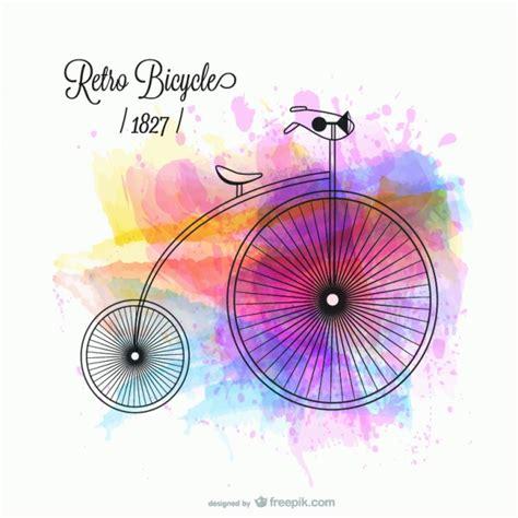 Imagenes De Una Retro | desenho vetorial bicicleta retro baixar vetores gr 225 tis