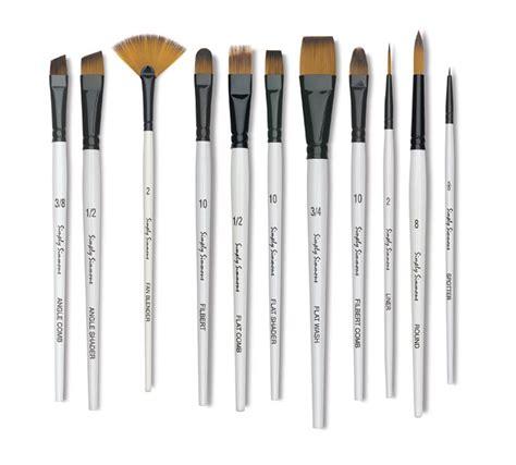 acrylic paint on canvas brushes basic brushes for acrylic painting best painting 2018