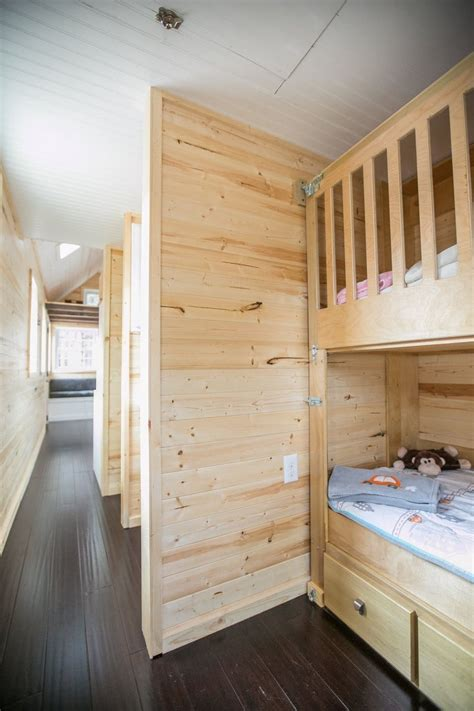 This Family Sold Their Big House To Live Tiny Tiny House Tiny House Bunk Beds