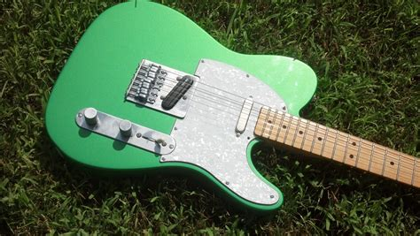 Sleeper Guitars by Guitar Build 2013 This Custom Fender Telecaster Is A
