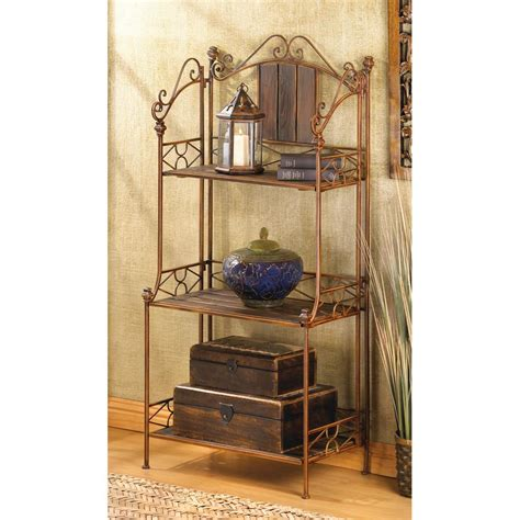 rustic bakers rack shelf wholesale at koehler home decor