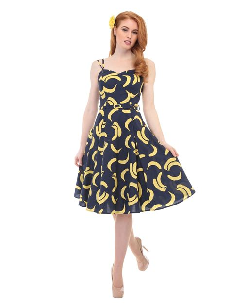 banana swing cos shop simona banana swing dress kleid collectif