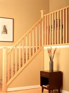 Interior Wood Stair Railing by Bw Creative Wood Railing Systems