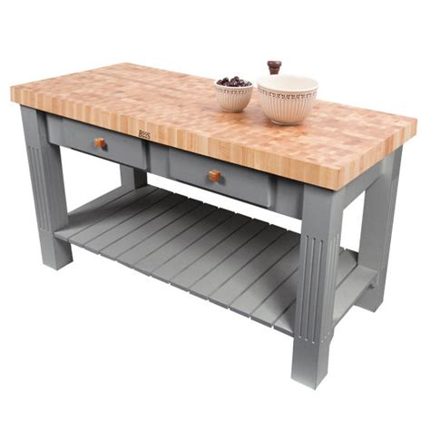 boos grazzi kitchen island grazzi kitchen island with butcher block end grain maple