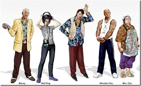 sleeping dogs cast how united front evolved the cast of sleeping dogs siliconera