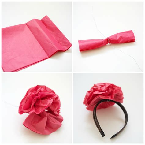 How To Make A Headband Out Of Paper - diy cactus costume for pennies