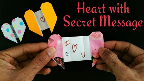 How To Make A Secret Message On Paper - how to make a message on paper 28 images diy origami