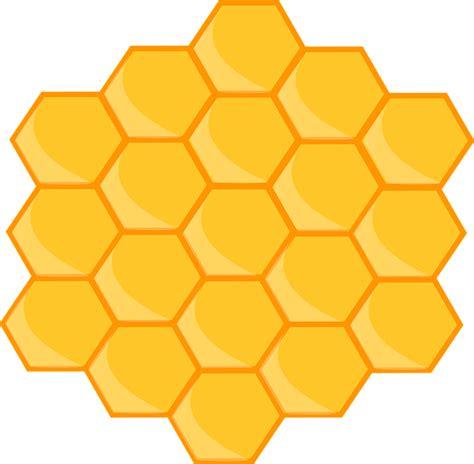 Sarang Madu gambar vektor gratis sarang lebah desain pola hexagon