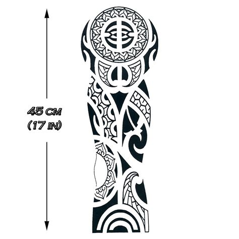 temporary tattoo maori maori sleeve artwear tattoo