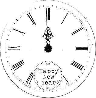 printable new years eve clock 32 free new year s eve printables spaceships and laser beams