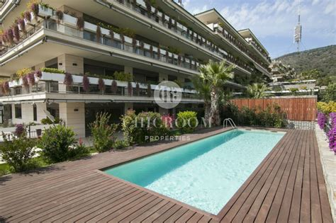 Garden Pool Apartments by 4 Bedroom Apartment For Rent In Sarria With Pool And Garden
