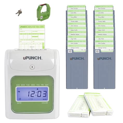 time clock punch card template electronic time clock punch card machine employee work