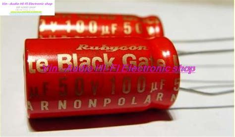 best rubycon capacitors 1pcs the world s best recognized capacitance rubycon blackgate std series audio electrolytic
