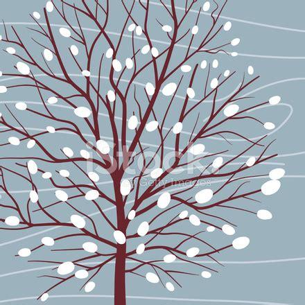 imagenes arboles invierno dibujos animados 193 rbol invierno stock vector freeimages com