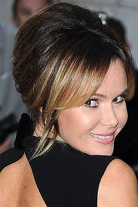 hairstyles to add height hairstyle that adds height amanda holden adds height to