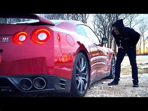 nissan gtr roman atwood roman atwood was given a 2015 nissan gtr for his ball