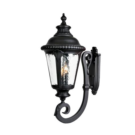 Black Light Fixture Acclaim Lighting St Charles Collection 2 Light Aged Brass Outdoor Wall Mount Light Fixture