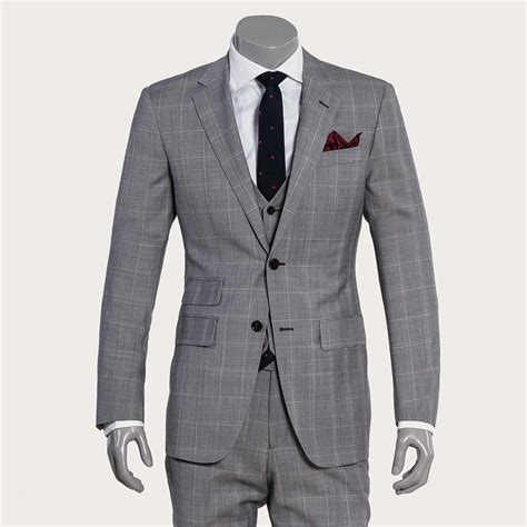 light gray suits for sale light gray plaid suit ownonly