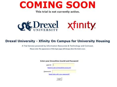 comcast home internet plans comcast plans drexel trial for internet tv