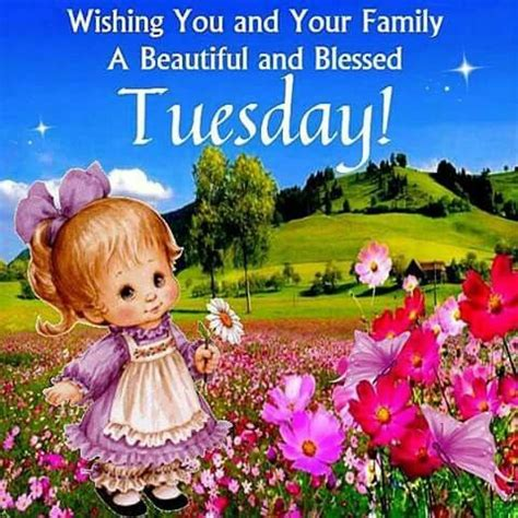 wishing you and your family a happy tuesday pictures