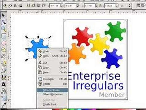 tutorial inkscape mac how to use inkscape to design a logo youtube