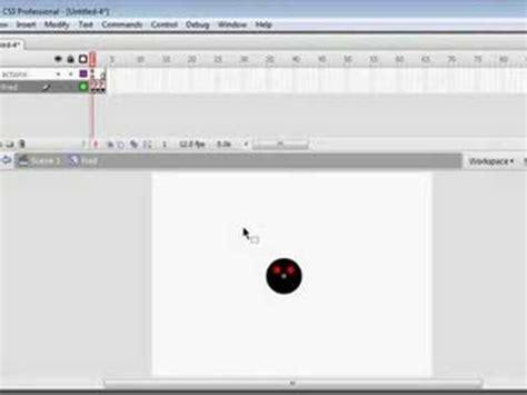 tutorial flash professional cs3 flash professional cs3 tutorial 1 moving the character