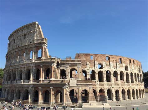 photo view  rome sights  rome colosseum rome