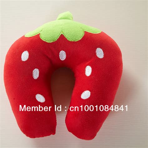 wholesale pattern design u shape neck pillow
