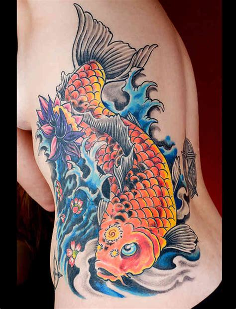 koi tattoo head up or down 116 nice fish koi tattoos images with meaning