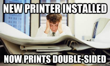 Printer Meme - printer issues meme pictures to pin on pinterest pinsdaddy