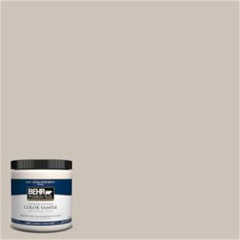 behr premium plus 8 oz icc 89 gallery taupe interior exterior paint sle icc 89pp the home
