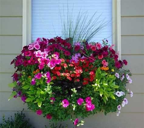 wunderschöner garten balkon bepflanzung idee