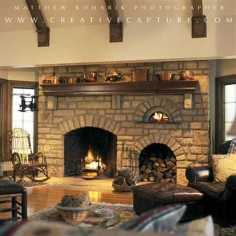 Fireplace Oven by Renato Ovens Indoor Pizza Ovens Traditional Living Room