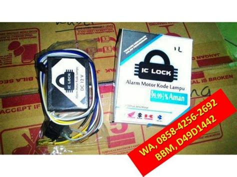 Alarm Motor Ic Lock wa 0858 4256 2692 jual aksesoris motor beat jual aksesoris motor mat