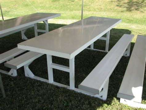 aluminum picnic table 1