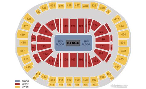 toyota center houston seating chart seating chart toyota center toyota center tickets and