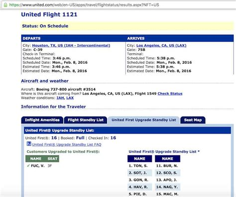 upgrade seat united airlines flight loads how to check airport standby position for
