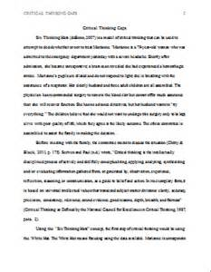 Study Essay by Study Six Caps